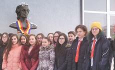 Eminescu, sărbătorit la liceul băimărean care îi poartă numele