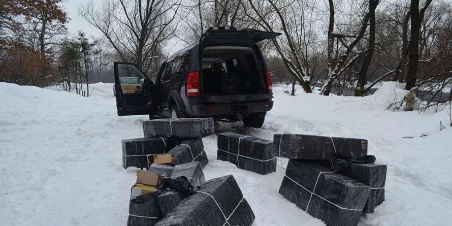 Captură de aproape 16.000 de pachete cu țigări de contrabandă