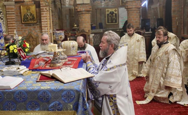 """Episcopul Iustin: """"Să schimbăm în viața noastră ce nu este în rânduială"""" (GALERIE FOTO)"""