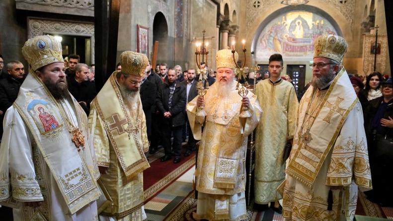 Ierarhii Maramureşului şi Sătmarului au slujit la Cluj de ziua Mitropolitului Andrei (GALERIE FOTO)