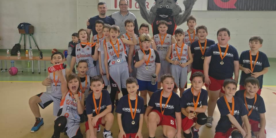 Baschetbaliștii Under 13 de la WildCats – un meci câștigat și unul pierdut în etapa de sâmbătă a Campionatului Național