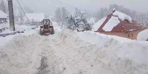 Cu 124 cm de zăpadă, Cavnicul rămâne liderul nămeților