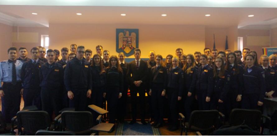 48 de studenţi ai Academiei de Poliţie fac practică în Maramureș