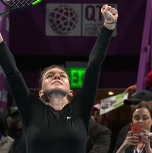 Simona Halep în semifinale la Doha