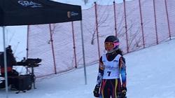Maramureșeanca Jennifer Remețean, singura schioare  din România ce a urcat  pe podium la FIS Children Trophy 2019