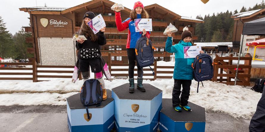 Maramureșeanca Jennifer Nagy Remetean a dominat Cupa Teleferic la schi de la Poiana Brașov (GALERIE FOTO)