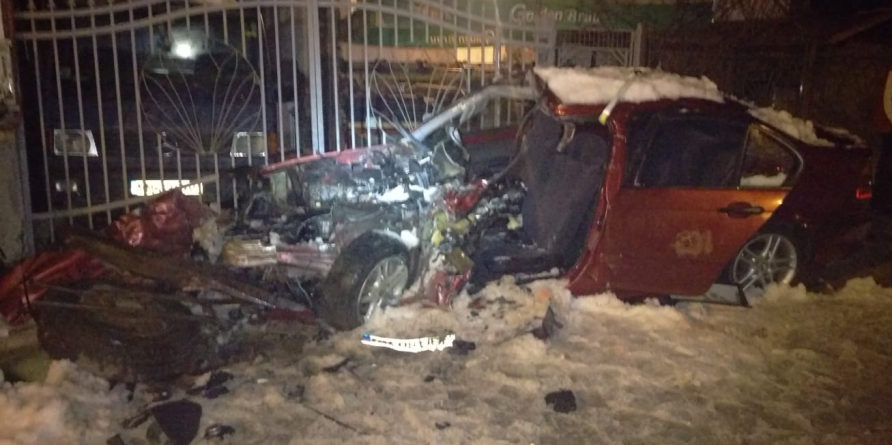 Un mort și patru răniți într-un accident la Sighet