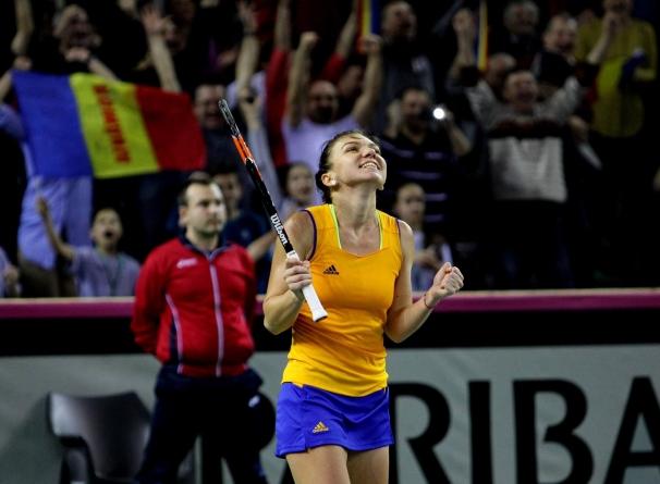 Egalitate între Cehia și România după primele două meciuri din Fed Cup