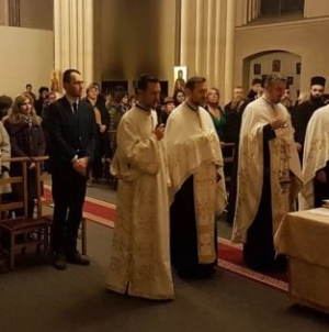 Slujbă la o biserică din Bruxelles pentru buna desfășurare a Președinției României la Consiliul UE