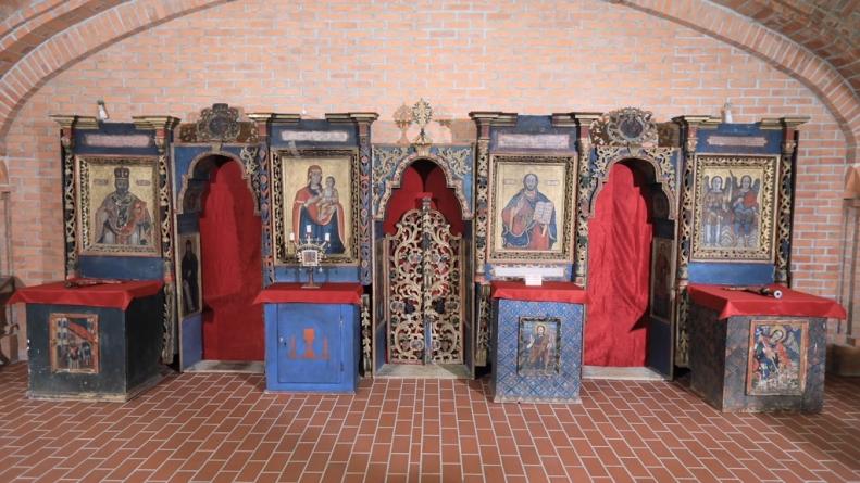 """Expoziția de icoane """"Chipuri din veac, în veci"""", la catedrală"""