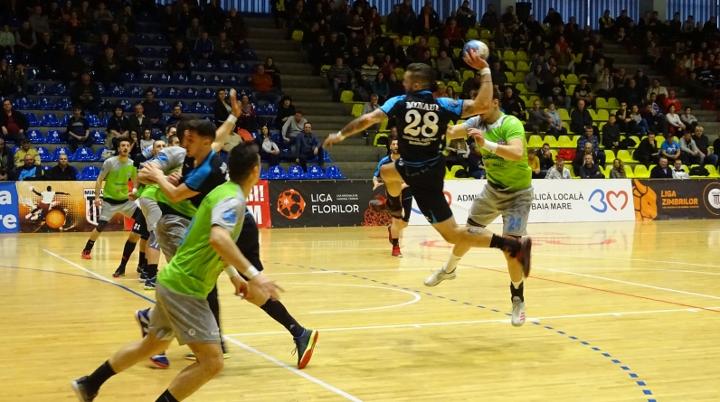 Minaur trece de CSM Bacău, urmează derby-ul pentru play off la Focșani (GALERIE FOTO)