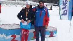 Maramureșeanul Otto Schultz, încă un titlu de campion național la biatlon