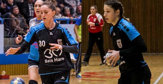 Două handbaliste de la Minaur convocate la națională pentru Golden League