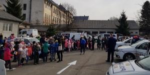 1500 de copii i-au luat la întrebări pe polițiștii din Sighet