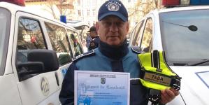 """Două titluri de """"Câinele polițist al anului"""", obținute pentru IPJ Maramureș de Teba și Tep"""