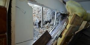Gospodării din trei localități maramureșene afectate de alunecări de teren