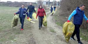 Acțiune de ecologizare în Ocoliș