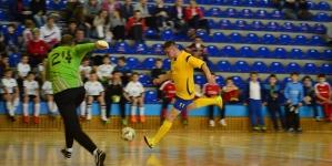 Meci de fotbal între echipa Jandarmeriei și reprezentativa Maramureșului în scop caritabil