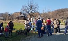 """Copii de la Grădinița Maya din Baia Mare- în campania """"Fă-ți datoria de om… plantează un pom!"""" (GALERIE FOTO)"""
