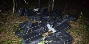 S-au confiscat țigări de contrabandă în valoare de 400.000 de lei, unele după o percheziție