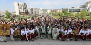 25 de ani de jertfelnicie întru Arhierie pentru PS Părinte Iustin, marcați în Duminica Floriilor (GALERIE FOTO)