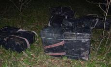 După focurile de avertisment, contrabandiștii au șters-o … ucrainește