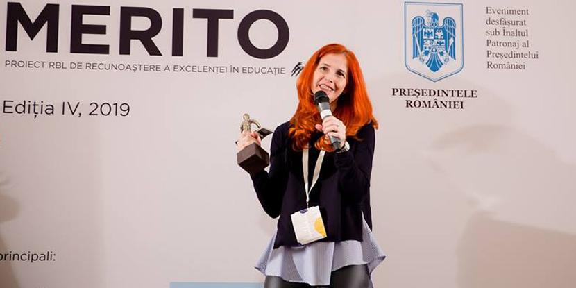 Maramureșeanca Tatiana Cauni se numără printre cei 12 profesori Merito 2019 (GALERIE FOTO)