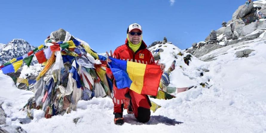 Băimăreanul Petrică Vanț, prin vânt de Himalaya (GALERIE FOTO)