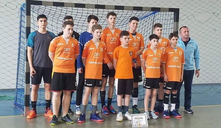 """Handbaliștii de la """"Iorga"""" s-au calificat la faza finală a Olimpiadei Gimnaziilor"""