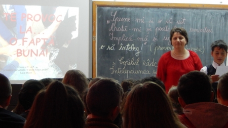"Elevii de la Școala ""Vasile Alecsandri"" ne provoacă la fapte bune"