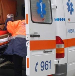 Accident cu opt răniți în care a fost implicat un microbuz înmatriculat în Maramureș