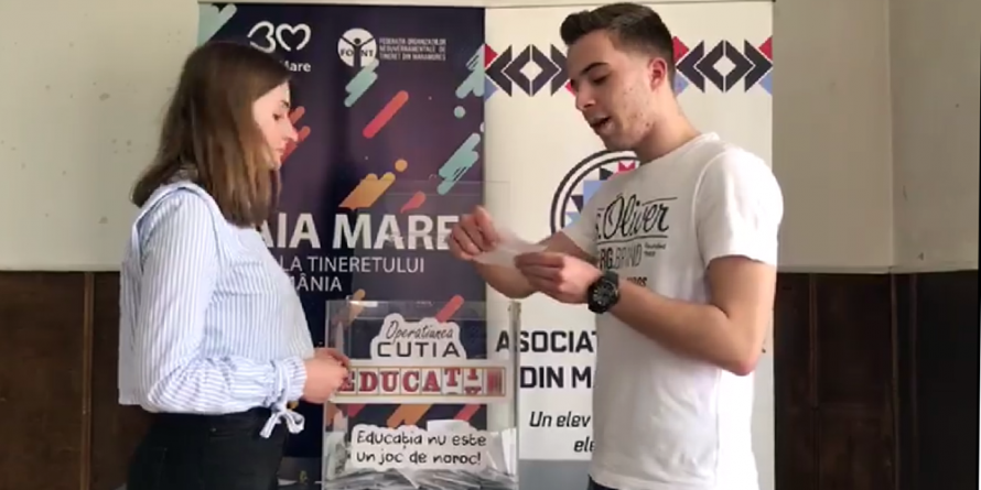 "Operațiunea ""Cutia"" la Colegiul ""Mihai Eminescu"""