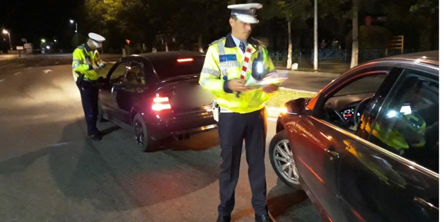 Șase infracțiuni rutiere la început de săptămână