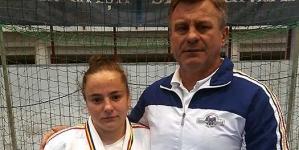 Bronz pentru băimăreanca Damaris Funeczan la Campionatul Național de Judo U21