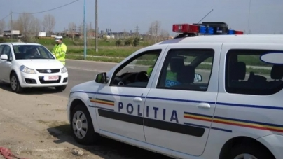 Un șofer a fugit de poliție, dar a fost prins cu tot cu țigările de contrabandă