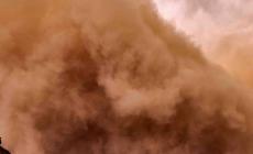 Praful saharian care a ajuns în România are o concentrație mai redusă de particule