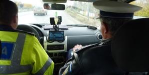 186 de amenzi, multe dintre ele date vitezomanilor. 21 de șoferi au rămas și fără permis