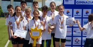 """Școala """"Nicoale Iorga"""" – argint la Campionatul Național de Tetratlon  (GALERIE FOTO)"""