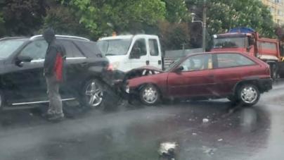 Accidente pe ploaie (GALERIE FOTO)