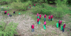 Ecologizare tinerească la Baraj