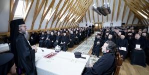 Conferință preoțească la Mănăstirea Bârsana (GALERIE FOTO)
