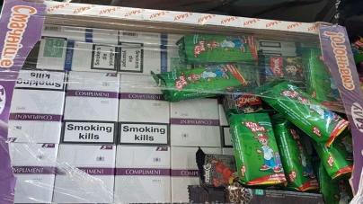 Contrabanda poate fi cam amară, chiar dacă se face în cutii de dulciuri