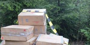 Contrabanda de weekend: țigări de peste 280.000 de lei confiscate