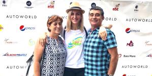 Yuliya Dumanska, ambasadoarea Finalei Campionatului European de Beach Handball Intercluburi