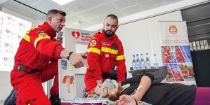 """""""Fii salvator!"""" – un program de dotări cu echipamente avansate de asistență medicală de urgență"""