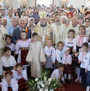 """Hramul bisericii """"Înălţarea Domnului"""" din Tărgu Lăpuş (GALERIE FOTO)"""