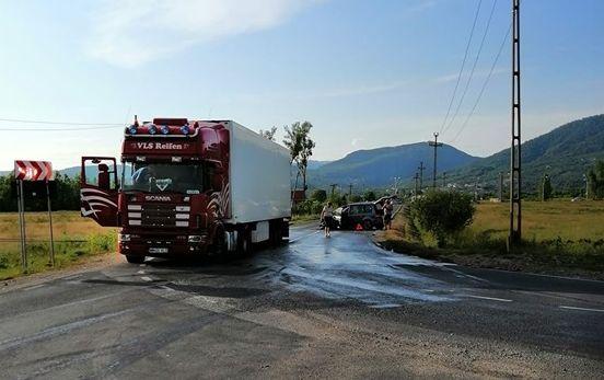 Două accidente – unul în Baia Mare și un altul în Satu Nou de Jos