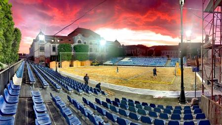 Finala Campionatului European de Handbal pe Plajă are loc în Baia Mare. în perioada 6-9 iunie