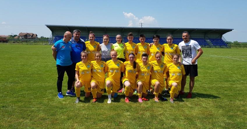 Meci cu 10 goluri la finalul stagiunii ligii feminine de fotbal