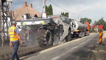 DN 18, între Baia Mare și Târgu Lăpuș –  modernizare cu lipsuri